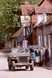 A Jeep in 'Aldbourne'